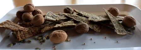 i favolosi crackers senza glutine