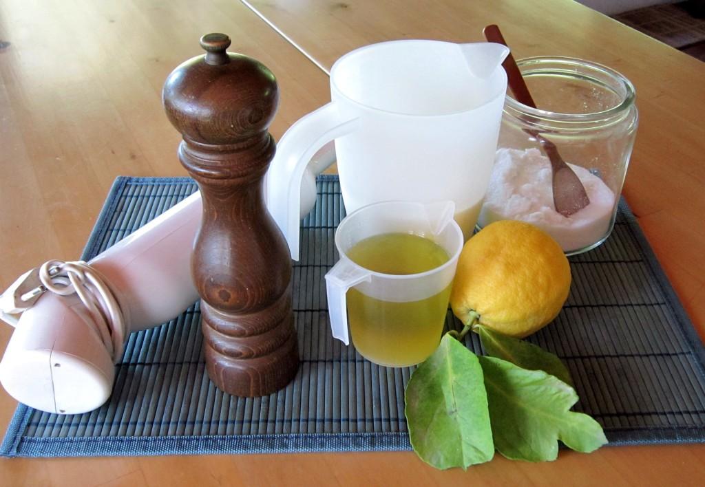 Occorrente per preparare una maionese senza uova