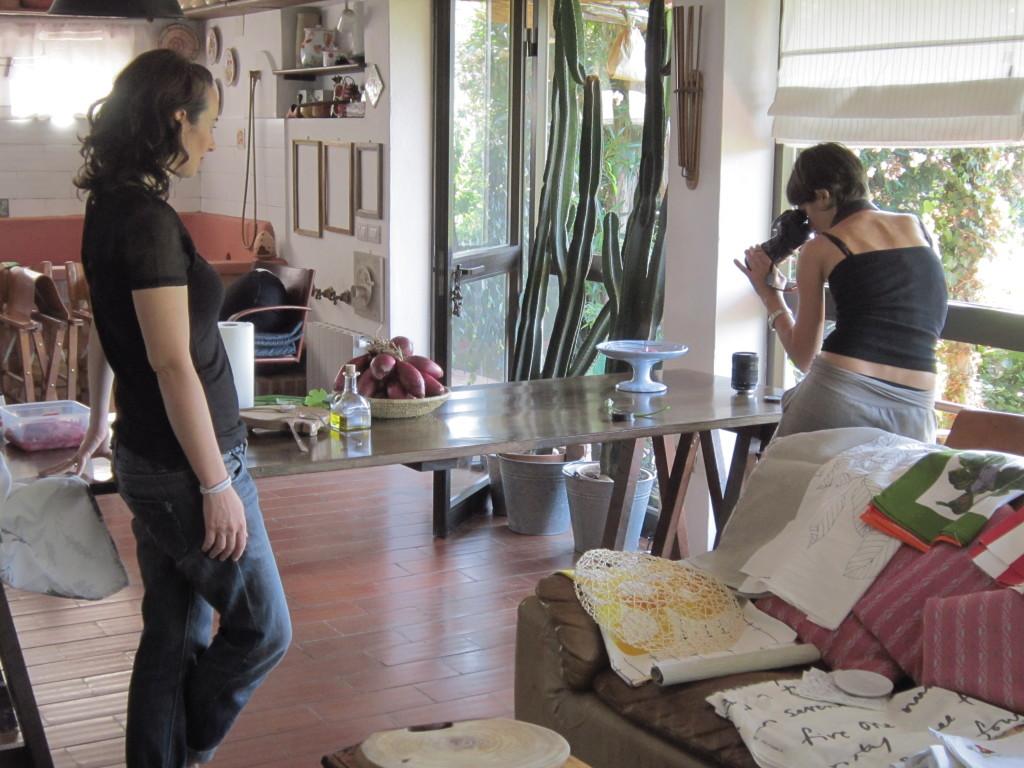 ...La mia cucina e la mia casa sono diventate un set fotografico..