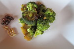 Il semplice broccolo diventa elegante e raffinato. Come eleganti sono le cose semplici.