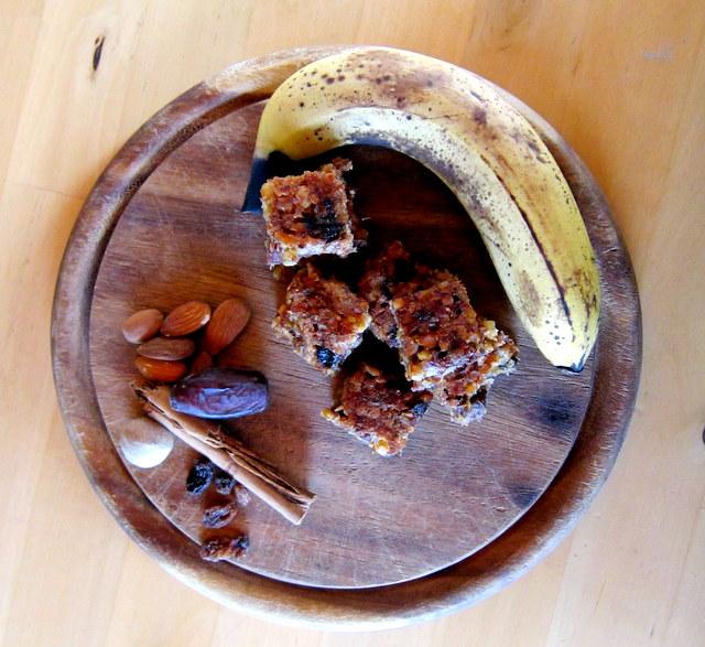 barrette energetiche senza glutine, fatte in casa.