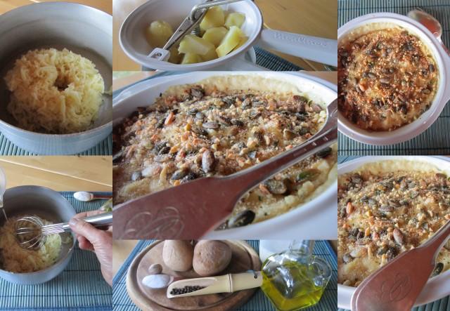 patate gratinate preparazione