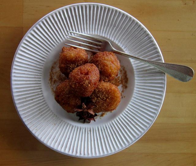 Frittelle di riso.
