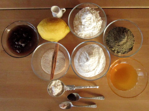 Torta cioccolato arancia cannella