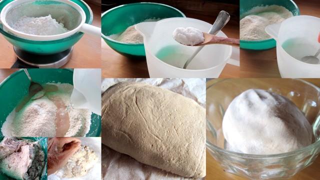 Gnocchi di farina di castagne.