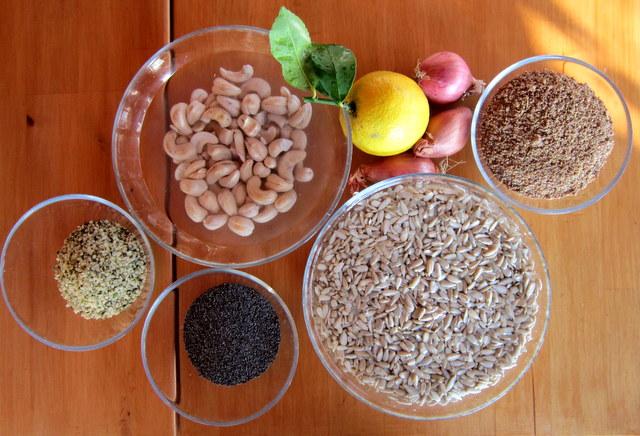 Paté di semi delle feste